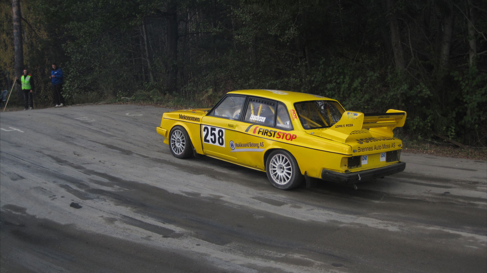 Volvo 240 Rally